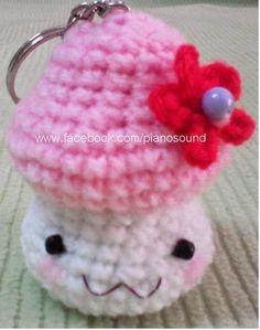 Pianosound Crochet : Little mushroom amigurumi free pattern