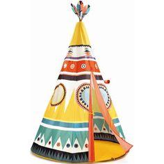 Djeco Teepee   Djeco Tipi   Indoor Play Tent   Crafts4Kids