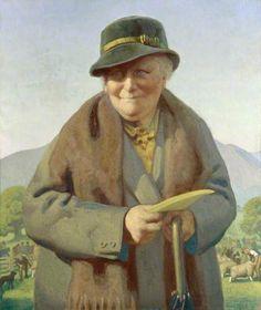 Beatrix Potter, 1938 by Delmar Banner (1896-1983)