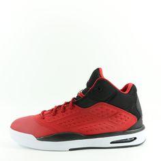04ffd6c558fb NIKE Air Jordan New School Basketball Shoes (Gym Red Black) 10 Gym