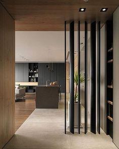 Screen Partition Design Decor 39 Ideas For 2019 Modern Interior Design, Interior Architecture, Interior And Exterior, Partition Design, Wood Partition, Partition Ideas, Divider Screen, Interior Inspiration, House Design