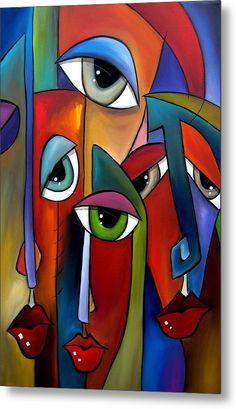 Pop Art Collage, Cubist Art, Abstract Face Art, Abstract Portrait, Art Moderne, Arte Pop, African Art, Fine Art America, Modern Art