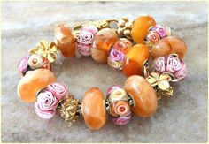 Roses And Amber By Angela Weaver Unusually pretty