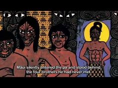 How Maui Found His Mother - Animation - Māori Tube Videos