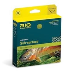 The Rio CamoLux Sub Surface line is a fantastic intermediate sinking line for lakes, rivers, and estuaries.    Most Unique feature: the RIO CamoLux Sub Surface line is a full line that is camouflaged to not spook wary lake and estuary fish and it sinks very slowly, say in the one or two inch per second range.  This is a great all-around line for lake fishing.  It has a 1-2IPS sink rate which is perfect for most trout lakes.  This is because the most active feeding zone in most lakes is the…