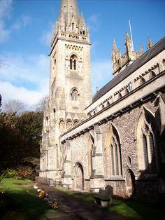 Llandaff Cathedral, Llandaff, Cardiff,  Wales