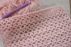 Easy Crochet Blanket, Crochet Shawl, Crochet Baby, Knit Crochet, Crochet Flower Patterns, Crochet Stitches Patterns, Baby Hut, Baby Baby, Diy Crafts Crochet