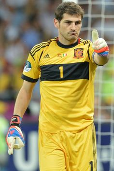 Iker Casillas Fernández (Spanish pronunciation: [ˈiker kaˈsiʎas ferˈnandeθ]; born 20 May 1981) is a Spanish football goalkeeper who plays for and captains both La Liga club Real Madrid and the Spanish national team. In 2008 he was the captain of the Spanish team that won their first European Championship in 44 years, the Spanish team that went on to win Spain's first World Cup (a tournament in which he won the Golden Glove and known as Yashin Award) and the 2012 European Championship.