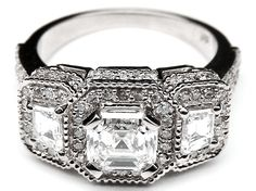 Diamond Ring Settings For Large Stones