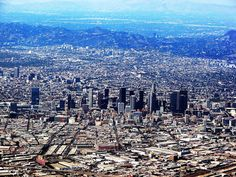 #Los #Angeles #Print featuring the photograph Los Angeles by Judi Saunders