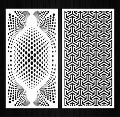 Set of 10 vector interior panels with abstract geometric pattern Room Divider Screen, Room Screen, Geometric Pattern Design, Graphic Patterns, Jaali Design, Tv Unit Decor, Laser Cut Stencils, Laser Cut Panels, Wood Panel Walls