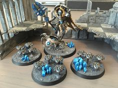 Probably a month or two late to the party, but pretty pumped about the Forgebane Cryptek I finished this week (C&C always welcome) : Warhammer 40k Necrons, Warhammer Models, Warhammer 40k Miniatures, Necron Army, Dark Eldar, Tyranids, Fantasy Miniatures, Mini Paintings, Colour Schemes