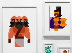 Oh my God Posters by Hey greek idea's  -illustrations