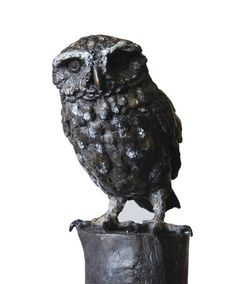 The Greensand Ridge Sculpture Project: Little Owl Cast and Making friends