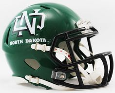 North Dakota Fighting Sioux NCAA Mini Speed Football Helmet