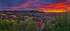 Trondheim from Kristiansten Festning by Aziz Nasuti on 500px