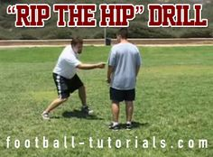 offensive line drill rip the hip