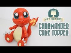 Pokemon cakes: Charmander cake topper - YouTube
