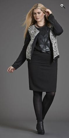 Zhenzi - Smart kort gennemlynet jakke - Off-white