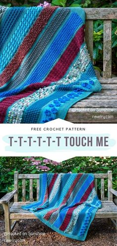 T-t-t-t-t-t Touch Me Free Crochet Pattern Do you already know about this pattern by Hooked on Sunshine? Its release is one of the most important events of the season and it has already started! #crochetafghan #crochetblanket #freecrochetpattern Crochet Afgans, Knit Or Crochet, Crochet Stitches, Free Crochet, Crochet Blankets, Chevron Afghan, Knitting Patterns, Crochet Patterns, Afghan Blanket