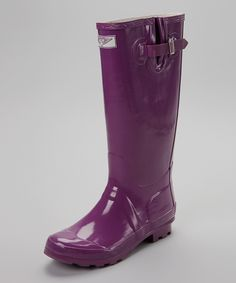 Look at this Forever Young Inc. Purple Rain Boot - Women on #zulily today!