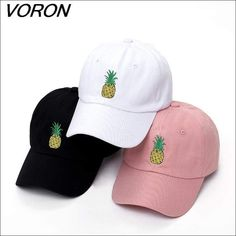 77358cdee01f8 Men or Women Pineapple Dad Hat Baseball Cap Polo Style Fashion Youth  Baseball Gloves, Baseball