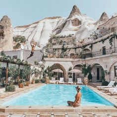 #letsflyaway to a land of fairy chimneys and caves    Tag your photos with #letsflyaway for shoutouts this week    by @rsimacourbe