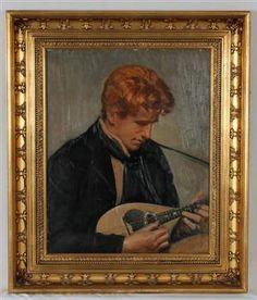 Lauritz.com - Ältere Gemälde - Michael Ancher 1849-1927 - DK, Herning, Engdahlsvej