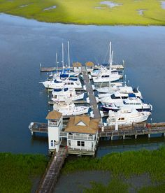 Delegal Creek Marina provides access to guests traveling the Intracoastal Waterway. Some restrictions apply. Sixteen Tons, Golf Courses, Traveling, Husband, Journal, River, Adventure, World, Places