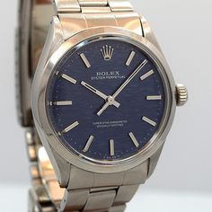 1971 — ROLEX Oyster Perpetual — Round
