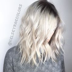 Contrast Deep rooted platinum