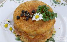Kartoffelpudding mit Bachkresse & Gänseblümchenkapern - Rezept