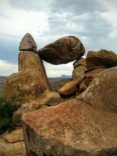 The Balanced Rock, Big Bend National Park