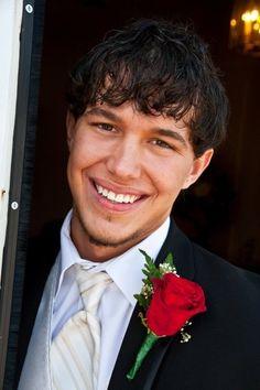 My sweet, and good lookin groom