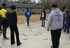 The Star This is a quick and easy team building activity that you can accomplish with any group, made up of youth or adults. We recently used this activity with our 2014 Georgia Teen Institute Sta…