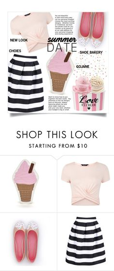 """""""I scream for ice cream"""" by sara-86 ❤ liked on Polyvore featuring New Look"""