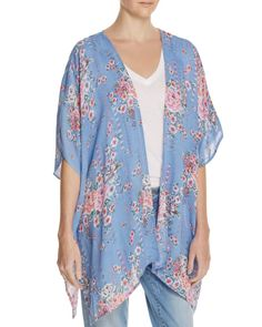 En Créme Floral Print Kimono - 100% Exclusive