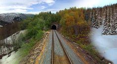 Воз кој патува низ сите годишни времиња / #Train that travels through all seasons http://www.kafepauza.mk/zanimlivosti/voz-koj-patuva-niz-site-godishni-vreminja/ #video