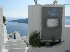Selene Restaurant in Fira, short distance rom Santorini