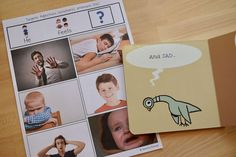 Use grammar picture pages to target emotions with fun children's picture books! A great speech and language therapy activity for preschool. Includes sentences strips and visuals!