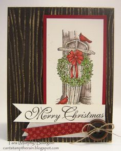 stampin up winter wishes stamp set - Google Search