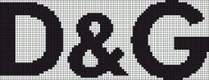 marque - make - d & g - point de croix - cross stitch - Blog : http://broderiemimie44.canalblog.com/