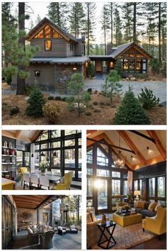Loved this year's HGTV Dream Home? Check out HGTV Smart Home 2014 and enter for… – 2019 - House ideas Hgtv Dream Homes, Log Cabin Homes, Cabins And Cottages, House Goals, My Dream Home, Home Fashion, Future House, Beautiful Homes, Architecture Design
