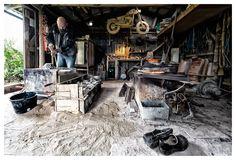 Bronzestøberen - Houdino foto