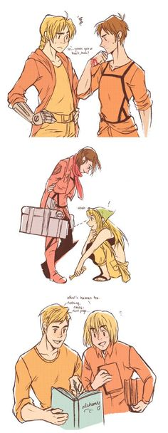 Fullmetal Alchemist and Attack on Titan crossover Aw haha the last one