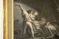 """Jean-Honoré FRAGONARD (1732-1806): """"LE VERROU"""" 1780 Antik Originalradierung in Antiquitäten & Kunst, Grafik, Drucke, Originaldrucke vor 1800   eBay"""
