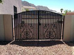Olson Iron Gates Las Vegas   GATE SPECIALS   Double Gates, Wrought Iron Gates,Gates Las Vegas
