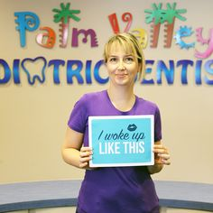 Who doesn't recognize this picture?! This is Dr. Olga! She is a Board Certified Pediatric Dentist, providing quality dental care for the children in the West Valley communities.