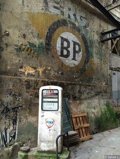 old gas pumps vintage