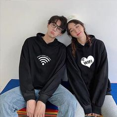 Matching Outfits is THE store you need to find the most unique and exclusive matching apparel and accessories for your Couple, Family, Kids, and BFF ! Matching Outfits Home page Matching Hoodies For Couples, Matching Outfits, Graphic Sweatshirt, Sweat Couple, Couples Assortis, Streetwear, Couple Outfits, Hooded Sweatshirts, Diy Boyfriend Gifts
